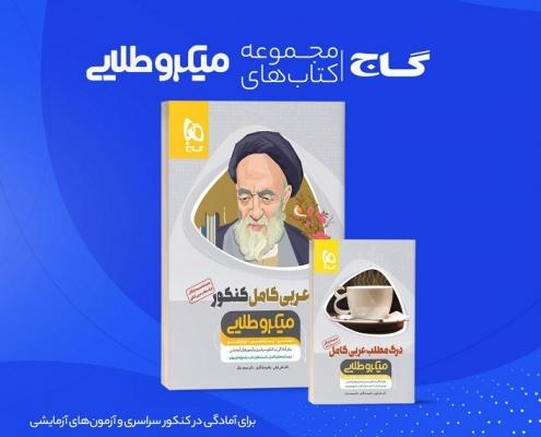 عربی کامل کنکور + درک مطلب عربی - میکرو طلایی گاج