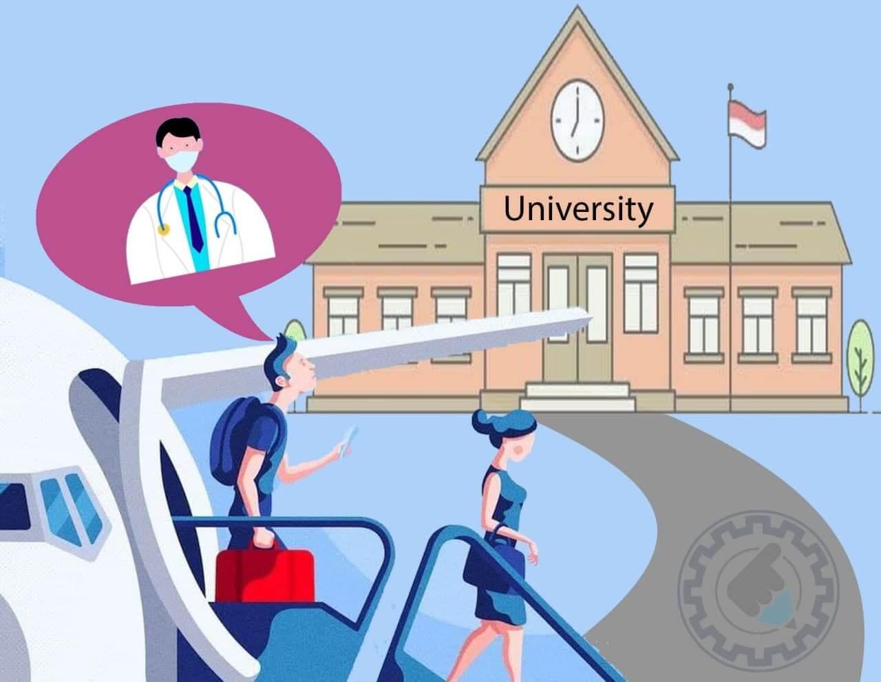 قبولی در رشته پزشکی بدون کنکور در خارج از کشور